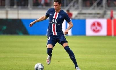 """Brest/PSG - Draxler """"C'était dur...Je ne suis pas à 100%, mais pour un premier match c'était pas mal"""""""