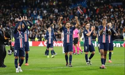 Les images du PSG ce mercredi: Real/PSG, 100e et 200e match pour Mbappé et Di Maria