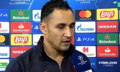 Navas fait mieux que n'importe quel gardien du PSG avant lui depuis qu'Opta analyse les matchs en Ligue des Champions