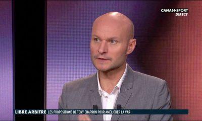 """Real/PSG - Chapron: """"Dans ce cas-là, l'arbitre est revenu sur sa décision sous le poids de l'utilisation de la VAR"""""""