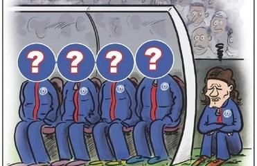 L'Équipe s'amuse de la situation de Cavani face au Real dans un dessin satirique
