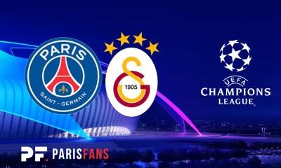 PSG/Galatasaray - Le groupe parisien :