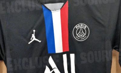 Des photos du maillot 4 du PSG pour la saison 2019-2020 fuitent encore
