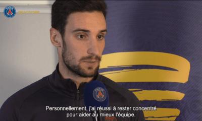 PSG/Saint-Etienne - Sergio Rico est heureux d'avoir joué et de la performance de l'équipe