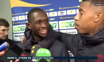 Kimpembe, Kouassi et Meunier se sont amusés en zone mixte après Reims/PSG