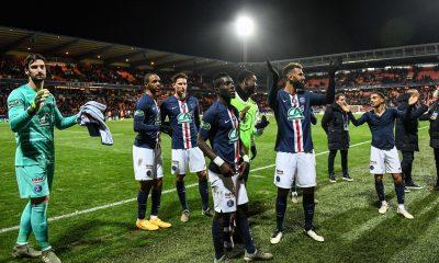 Le PSG a battu l'un de ses records lors du déplacement à Lorient