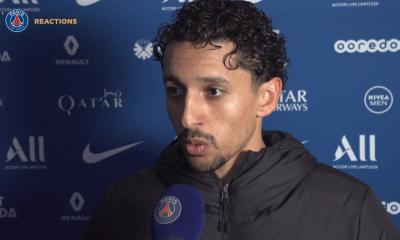 """PSG/Bordeaux - Marquinhos évoque """"un match bizarre"""" et une victoire """"importante"""""""