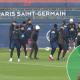 Les images du PSG ce mardi : entraînement et conférence de presse