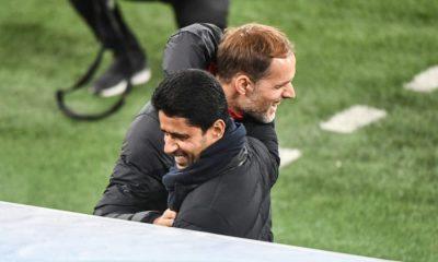 Nasser Al-Khelaïfi très heureux après la qualification du PSG face à Dortmund