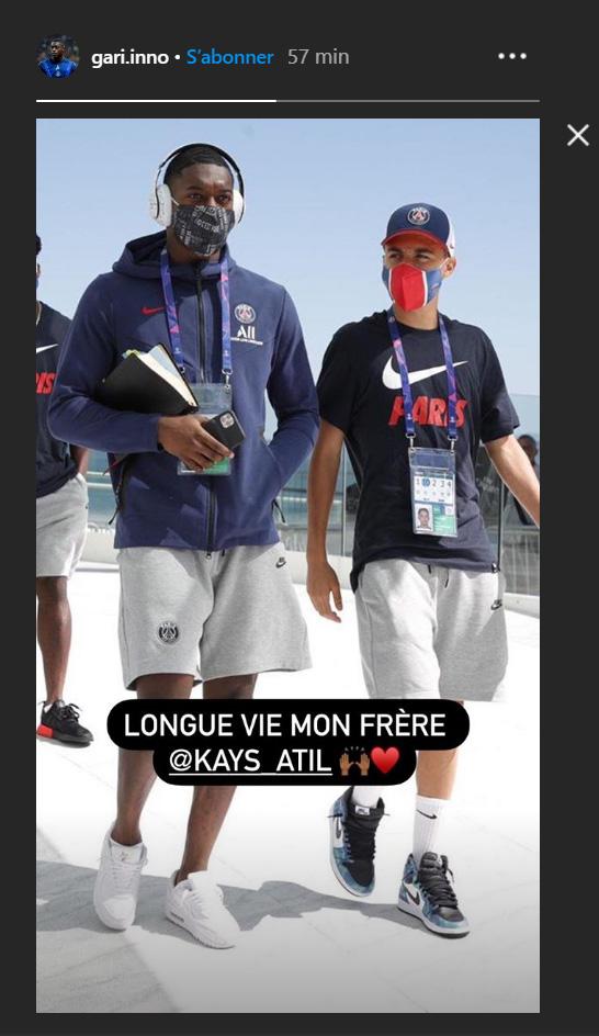 Les images du PSG ce mardi: Repos et anniversaire de Kays Ruiz-Atil