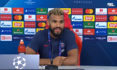 """Atalanta/PSG - Choupo-Moting est heureux """"J'ai senti que tout Paris était content"""""""