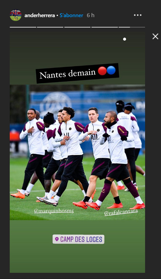 Les images du PSG ce vendredi: conférence de presse et préparation pour Nantes/PSG
