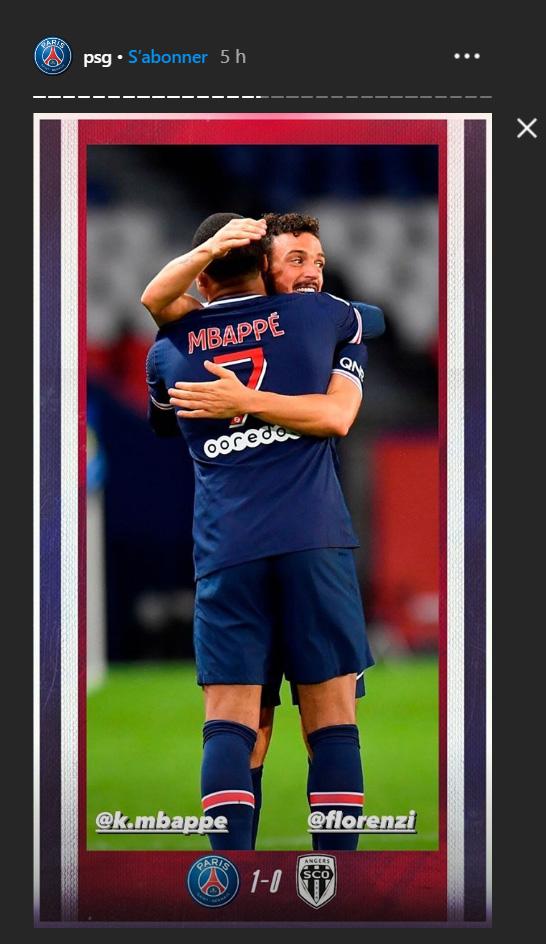 Les images du PSG ce vendredi: Victoire face au SCO d'Angers