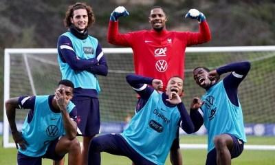 Les images du PSG ce jeudi: Focus sur les internationaux Parisiens