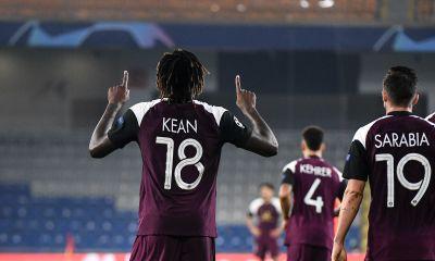 Istanbul BB/PSG - Kean est content de la victoire et de son doublé