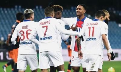 Les images du PSG ce dimanche: Montpellier/PSG, 100e but de Mbappé et repos