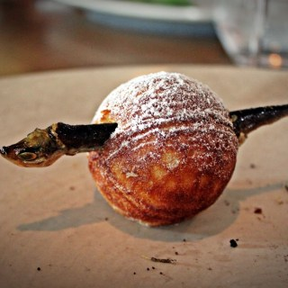 Noma: Fried moss & fish donuts at the world's best restaurant