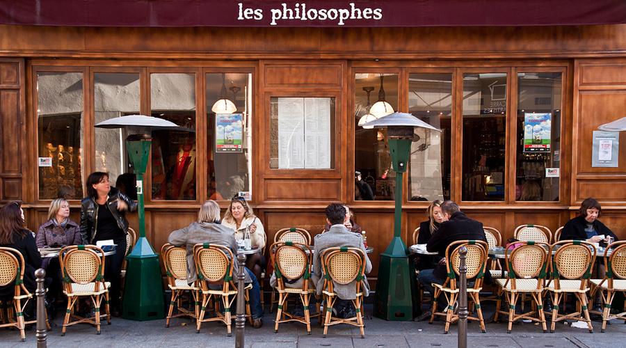 Cafe les Philosophes Paris Meilleurs bistrots à Paris
