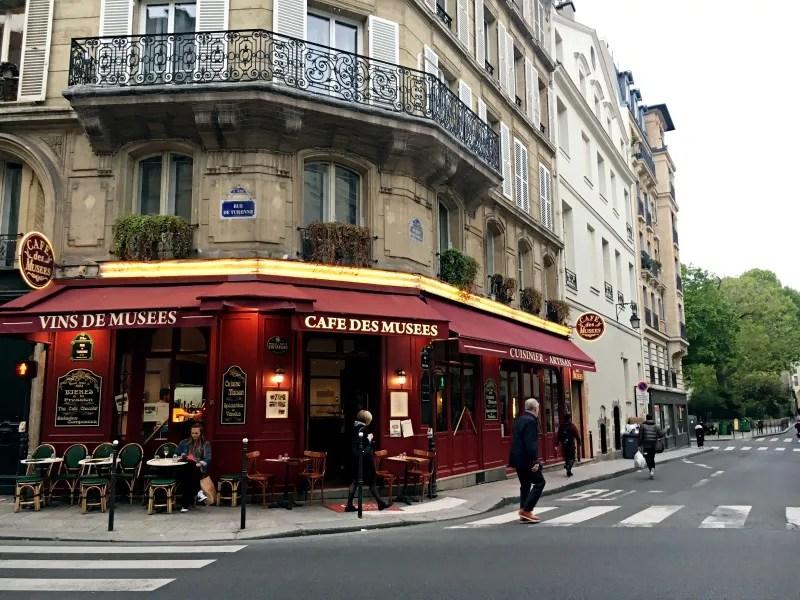 Meilleurs restaurants français classiques Cafe des Musees Paris