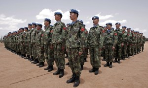Chinese engineers join Peacekeeping Forces in Darfur, UN Photo