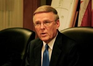 Senator Dorgan. Photo Credit: timjeby, Flickr CC
