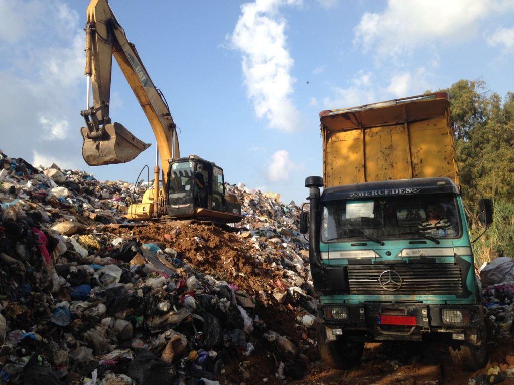 Trash in Beirut