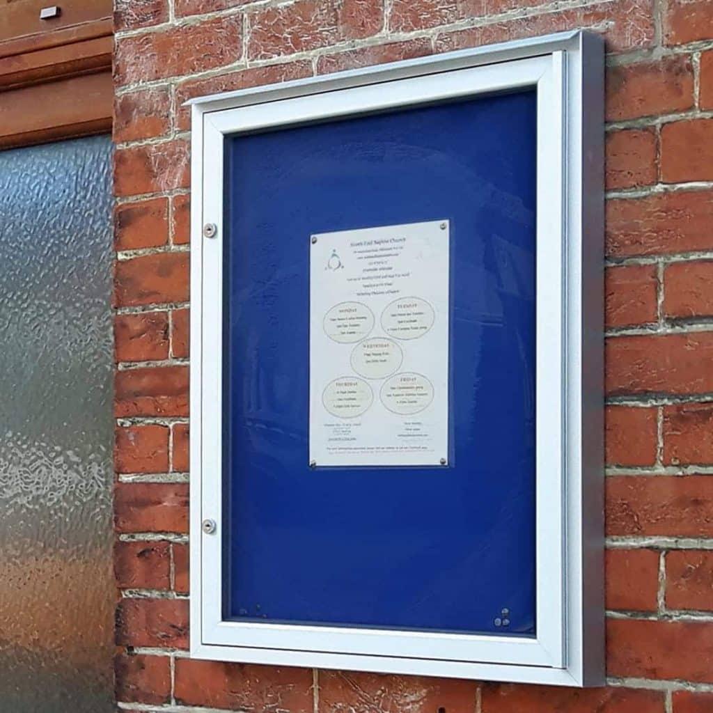 Varicase Silver Wall Noticeboard