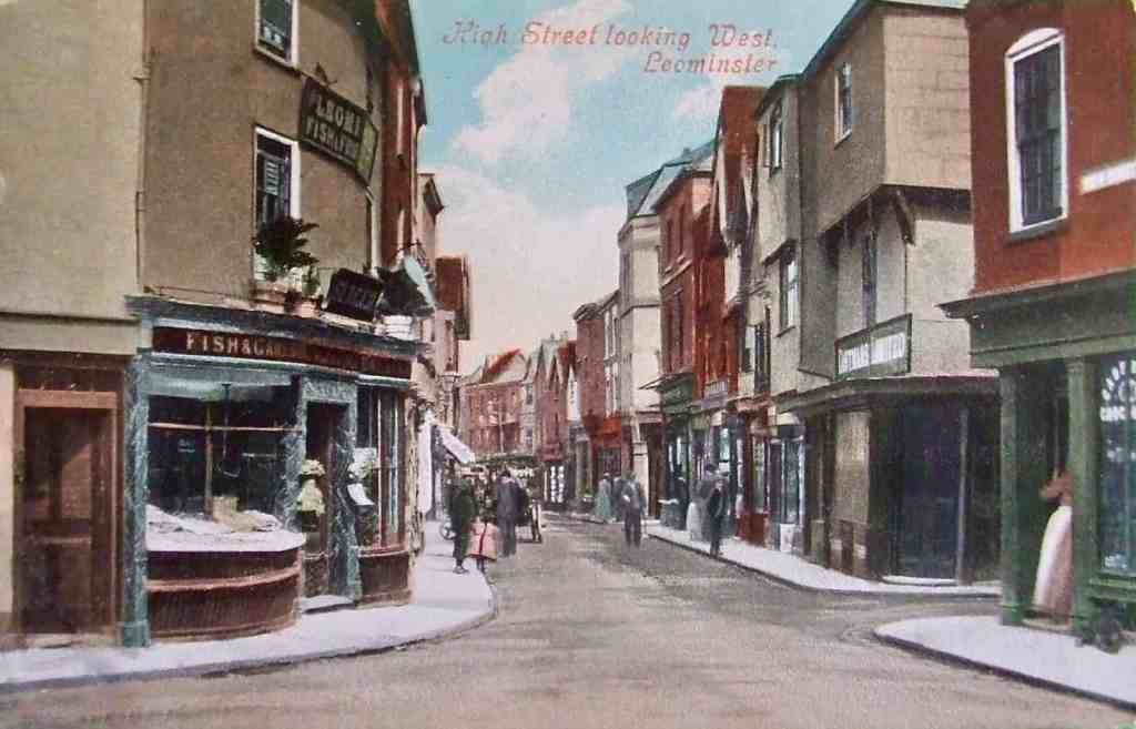High Street Leominster Looking West