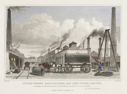 Rothwell Hick & Co Steam-Engine Manufactory and Iron-Works, Bolton