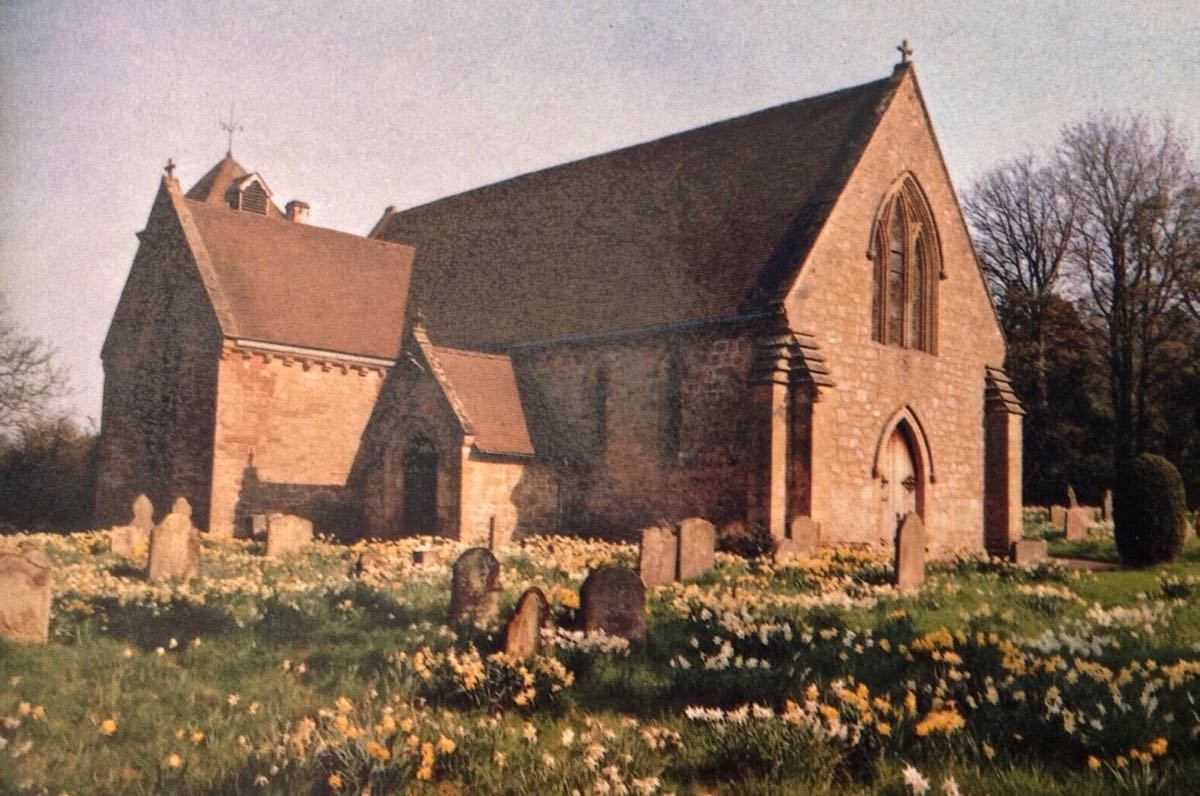Acton Burnell, St Mary (Postcard)