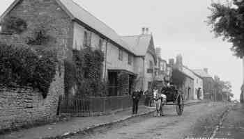 Watling St Leintwardine Early 1900s by Percy Benzie Abery