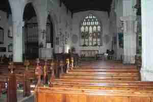 Inside All Saints Church