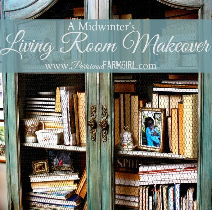 French Style Living Room Makeover