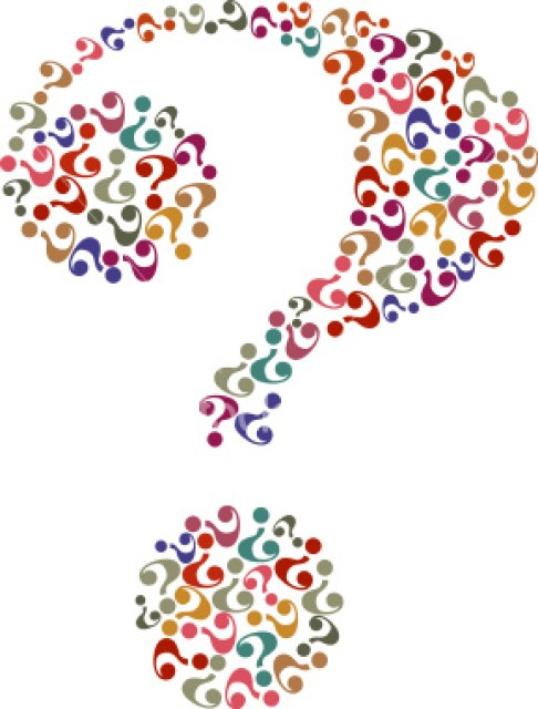 question mark graphics
