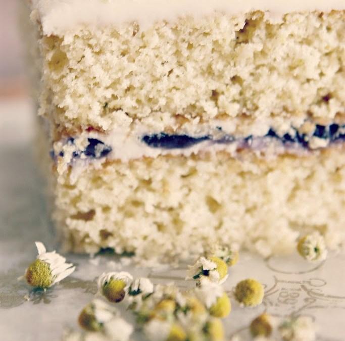 The Romance of Herbs – Parisienne Farmgirl's Chamomile Lavender Cake