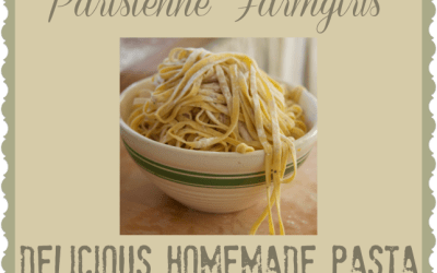 Today in the Kitchen – Delicious Homemade Pasta (Flower Pepper and Gramma's Chicken and Noodles too!)