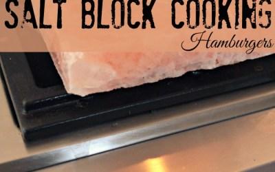 Himalayan Salt Block Cooking – Hamburgers