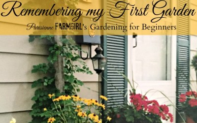 Remembering My First Garden
