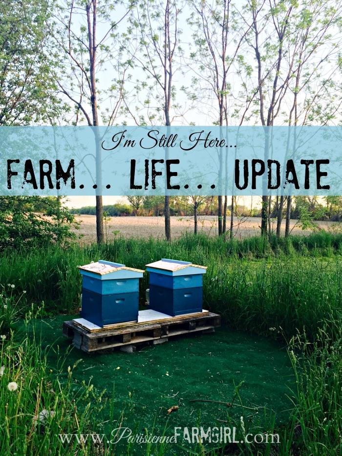 I'm Still Here (Farm Life Update)   Parisienne Farmgirl