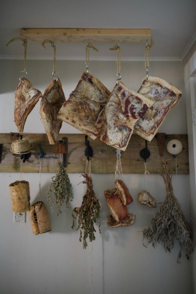 Visions of Hanging Meat Danced in Her Head: Easy Larder Ideas for a Farmhouse Kitchen