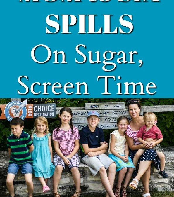 Transitioning Back to to School, Mom of Six Spills on Screen Time, Sugar and Essential Oils