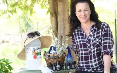 Essential Oils for Gardening & My Gardening Basket