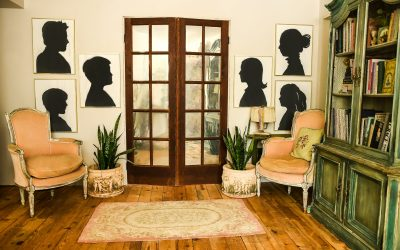 Does Mirror Paint Work   OLD SALVAGED DOORS   Antique Mirror DIY   The Side of My Office Never Shown