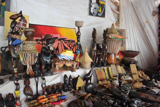sculptures art africain