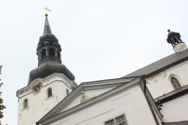 tallinn - cathedrale sainte marie