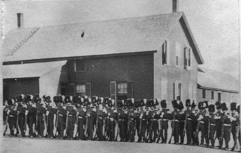 Train Station – Civil War Soldiers