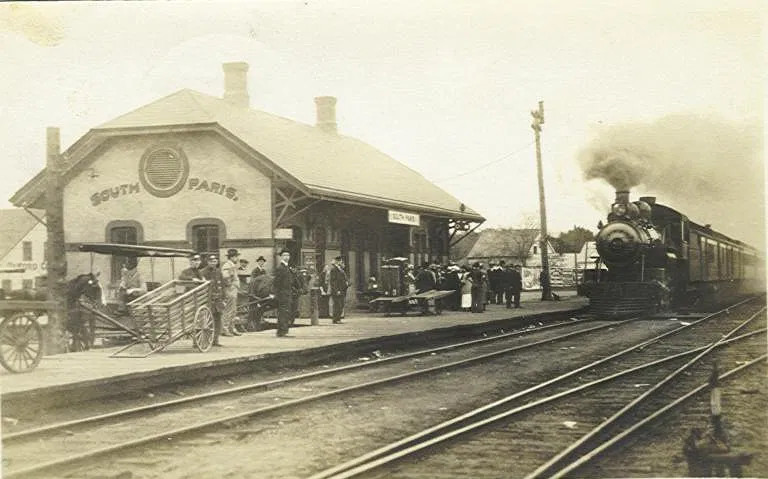 Train Station – Date unknown