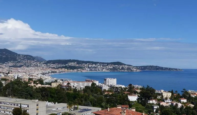 Baie des Anges view