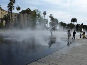 Walk on Water at Nice's La Promenade du Paillon