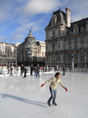 Ice Skating In Paris At The Htel De Ville Paris Perfect